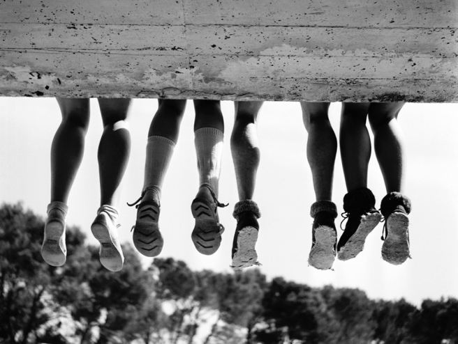 Four Pair of Legs