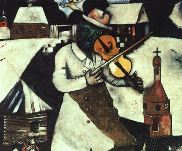 """I am a child who is getting on.""  - Marc Chagall"