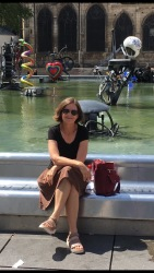 Linda at Fountain