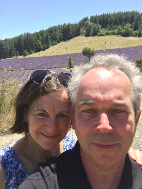 Mike and Linda Lavender fields
