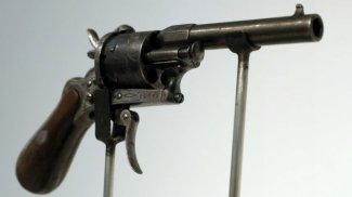 Gun that shot Rimbaud