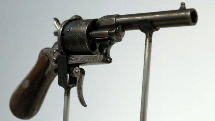 Gun that shot Rimbaud