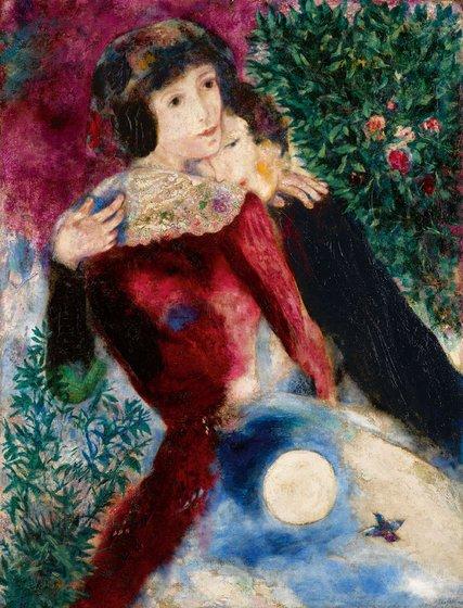 Chagall Les Amoureux