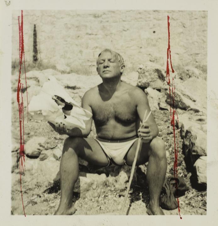 Dora Maar's 'Picasso en Minotaure, Mougins' (1937)