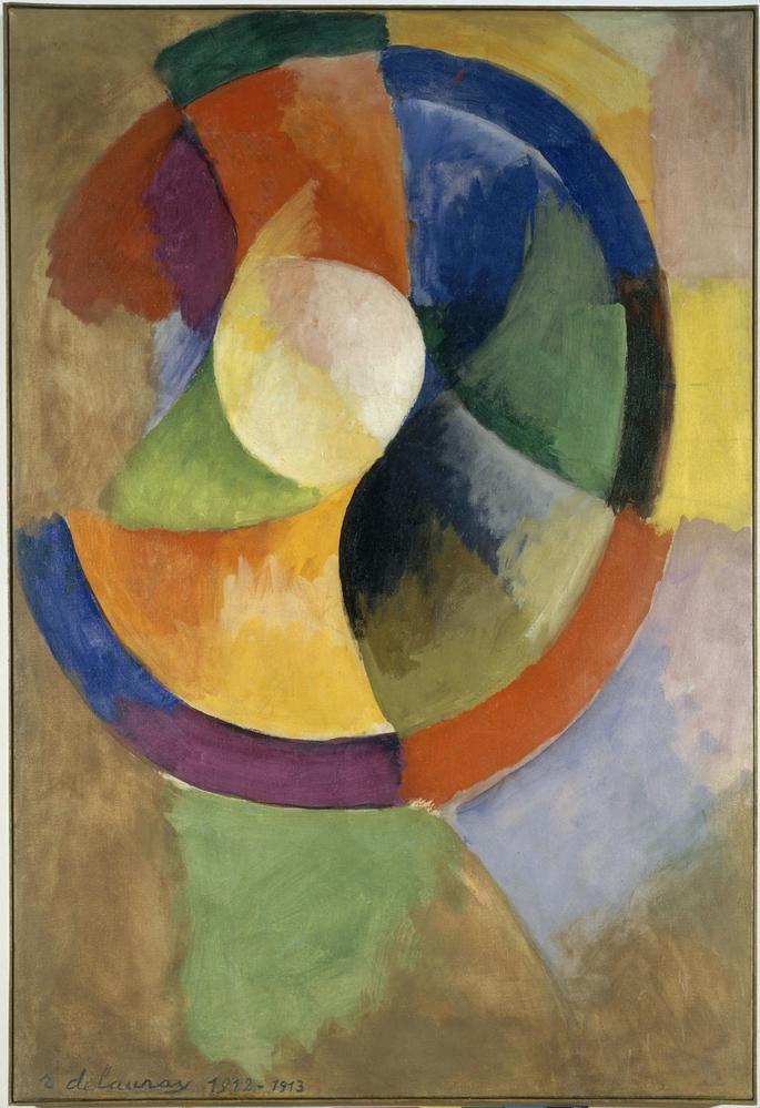 Robert Delaunay's 'Circular Forms: Sun No. 2' (1912-13)