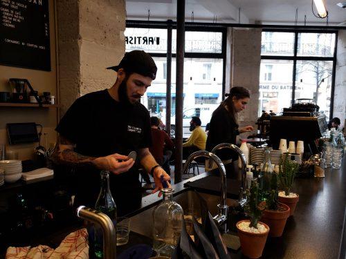 cafe barristas