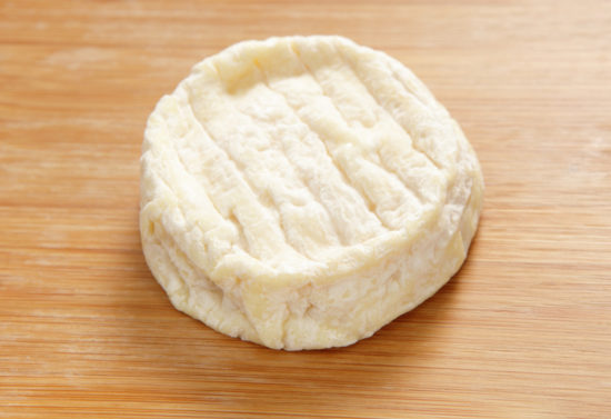 An example of Saint-Marcellin cheese.