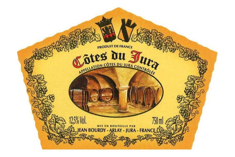 Domaine Jean Bourdy Cote du Jura Rouge label