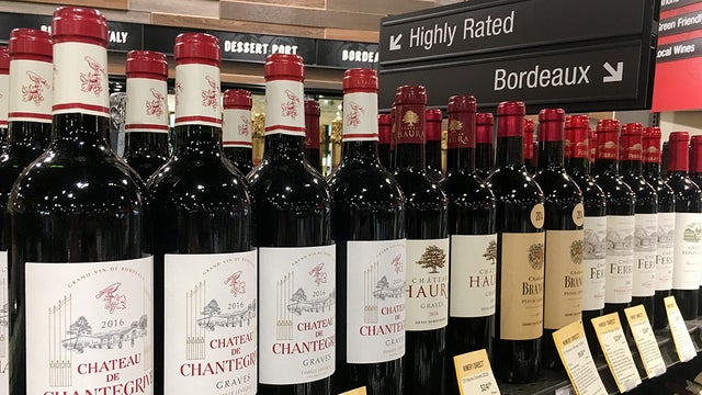 French wine tariff
