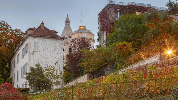 Today, Paris' largest and most famous vineyard is the Clos Montmartre (Credit: Credit: Pel_1071/Getty Images)
