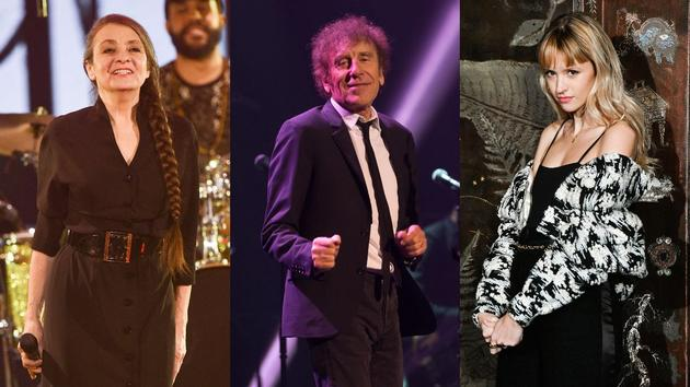 """Catherine Ringer, Alain Souchon and Angèle all aim for the title of """"artist of the year"""