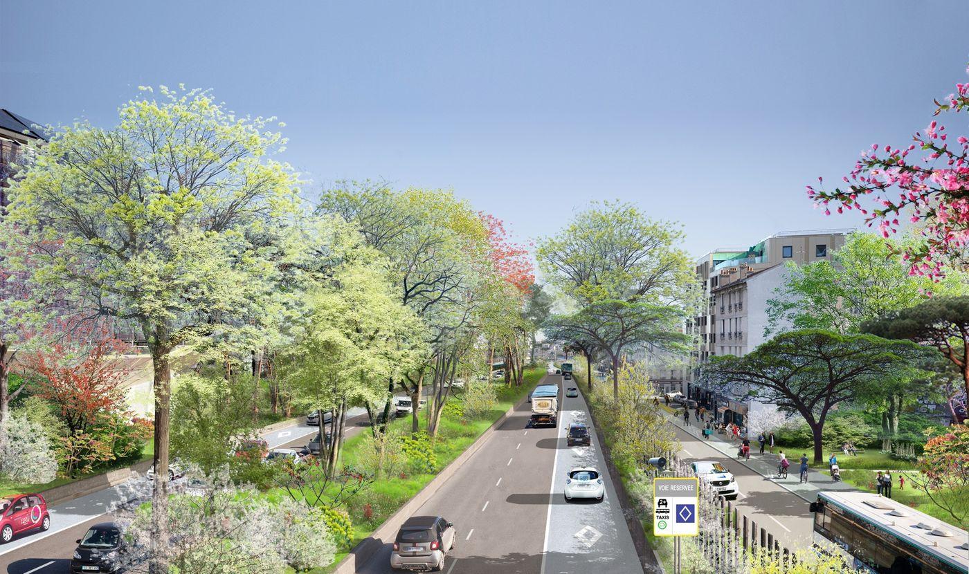 Paris beltway imagined new