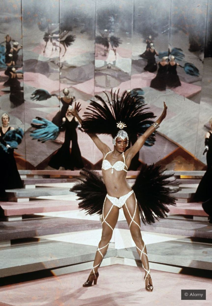 In the 1980s the dancer Lisette Malidor embodied the chic, smart, sophisticated spirit of Paris (Credit: Alamy)