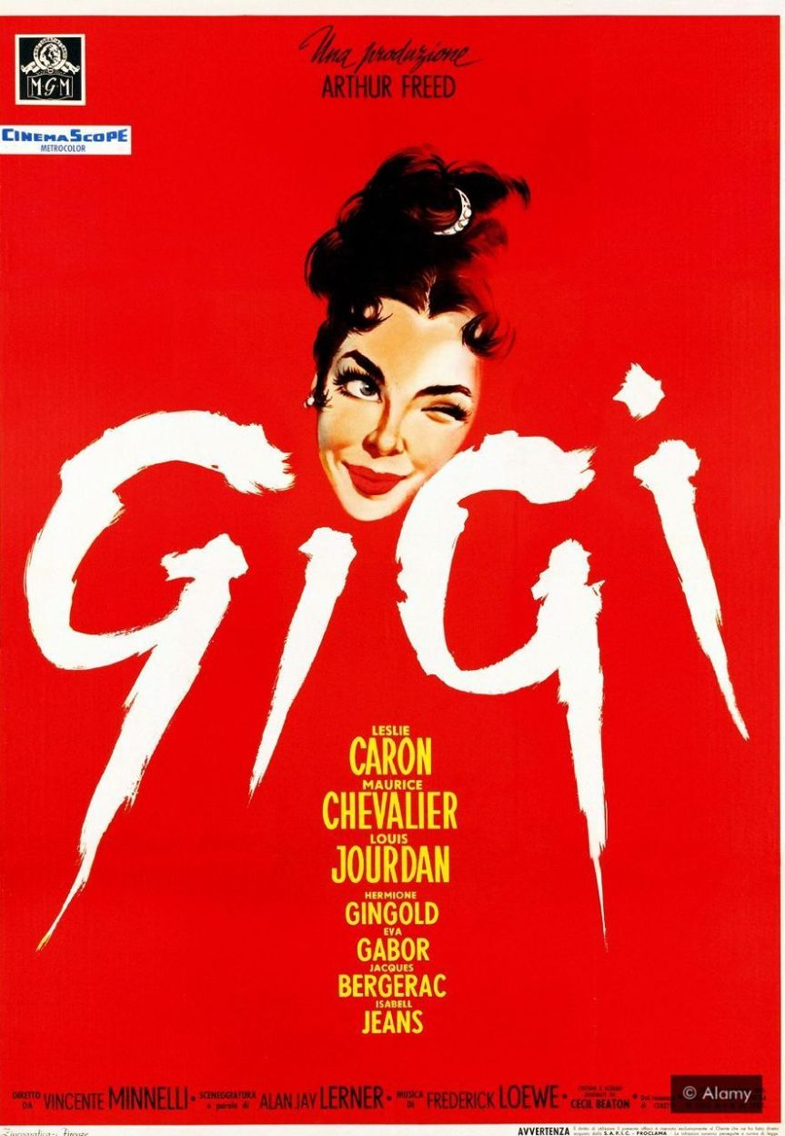 The film Gigi was based on the popular novella by Colette (Credit: Alamy)