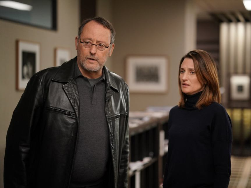 Jean Reno and Call My Agent! star Camille Cottin